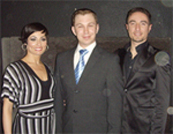 Photo of Vincent & Flavia and Phil Hurst